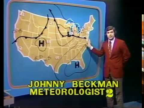 WSB-TV Johnny Beckman's Weather - January 23, 1976