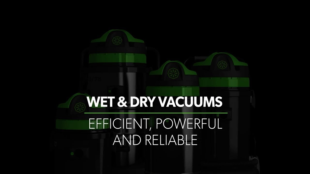 Wet&Dry Inox Range Vacuums: Efficient, Powerful And Reliable