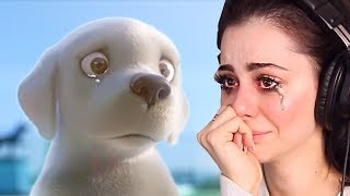 Reacting to the SADDEST animations - TRY NOT TO CRY CHALLENGE thumbnail