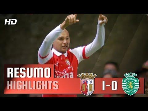 Resumo: Braga 1-0 Sporting (Liga 28ª J)