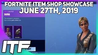 Fortnite Item Shop *NEW* SOFIA SKIN AND MORE! [June 27th, 2019] (Fortnite Battle Royale)