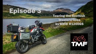 Touring the Scottish Western Isles by BMW R1200GS | Episode 3 | From Mull to Skye
