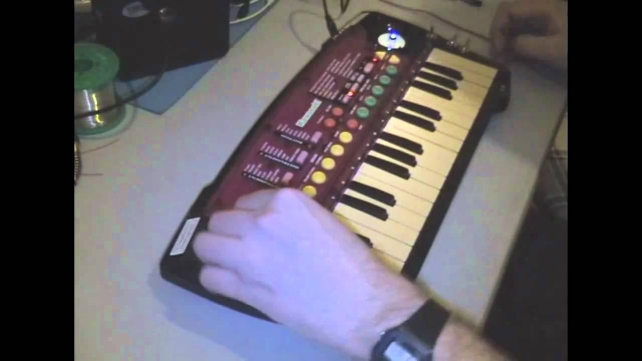 Circuit Bent Kawasaki Cyber Keyboard By Freeform Delusion Youtube Wrongbot Elmo39s World