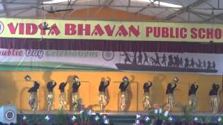 Republic Day Celebration | 26th Jan 2015 | Jahan dal dal pe | Vidya Bhavan Public School
