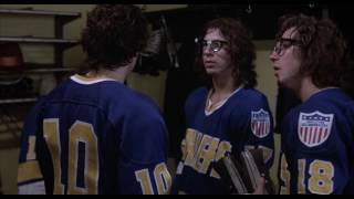 The Hanson Brothers invade the stands