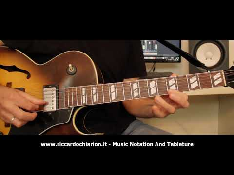 Jazz Guitar Etude #8 - Body And Soul