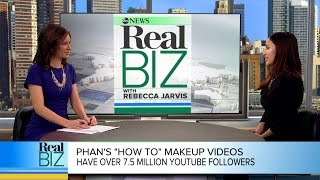 YouTube Star Michelle Phan How She's Making Millions | Real Biz with Rebecca Jarvis | ABC News