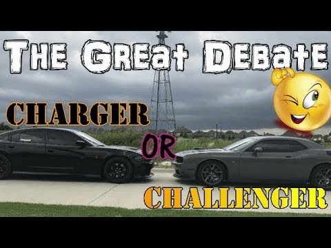 Charger or Challenger - Which is really the better car?