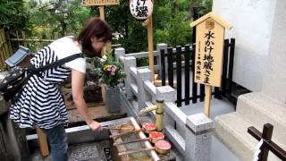 京都清水寺 以為是拍照其實是綠影祭拜中 thumbnail
