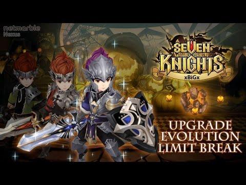Seven Knights #2 สาธิตการข้ามขีดจำกัด อัพเกรดและวิวัฒนาการ - Limit Break - | xBiGx