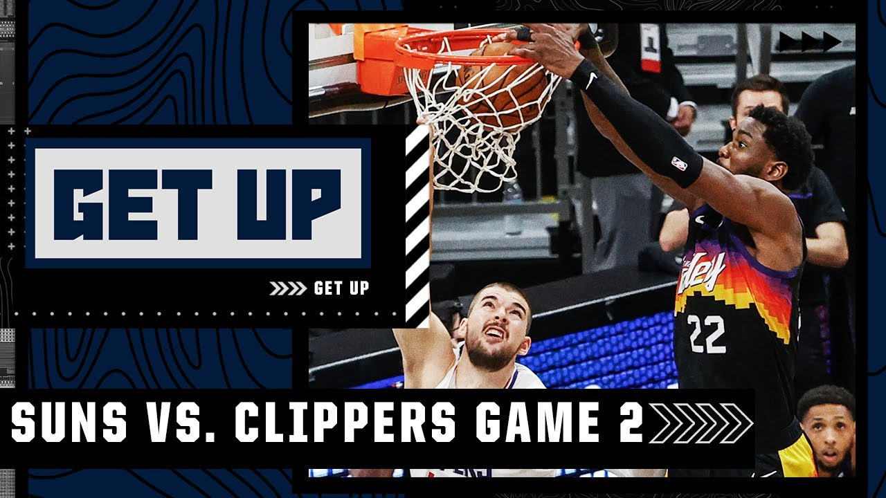 Suns vs. Clippers Game 2 highlights and analysis: Deandre Ayton's game-winner breakdown | Get Up
