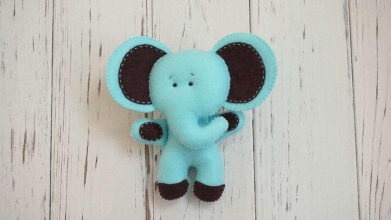 How to make a cute felt elephant diy crafts tutorial how to make a cute felt elephant diy crafts tutorial guidecentral jeuxipadfo Choice Image