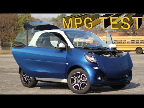 How Bad Is The Gas Mileage On A Smart Fortwo