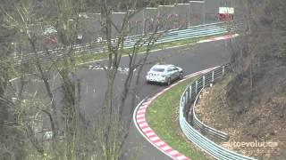 2017 bmw f52 1 series sedan testing on the nurburgring