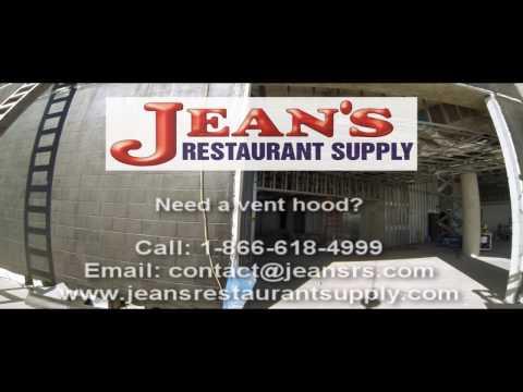 Commercial Vent Hood - Restaurant Exhaust Hood - Crane Delivery - Texas State Aquarium