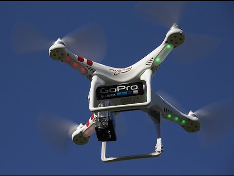 Квадрокоптер GoPro Karma Drone - YouTube