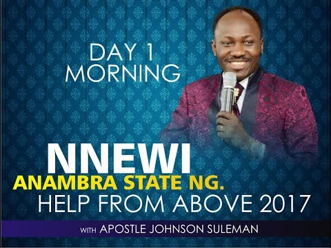 NNEWI - ANAMBRA STATE OUTREACH, LIVE BROADCAST WITH APOSTLE JOHNSON SULEMAN PT 2