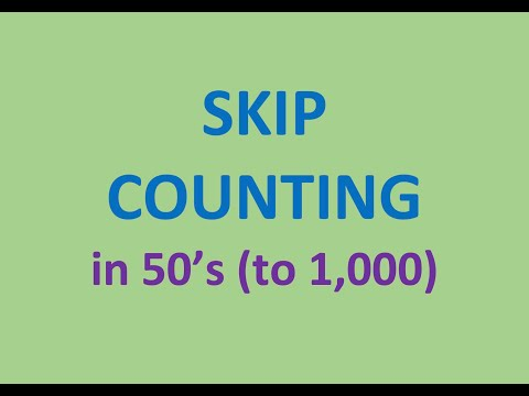 Skip Counting (in 50