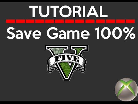 Xbox Rgh Como Colocar Save Game No Gta V Youtube