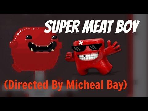 Michael Bay!? - Super meat boy! (3) Salt Factory
