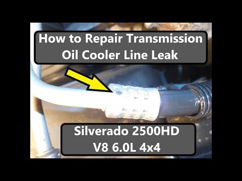 Transmission Cooler Line Leak Repair