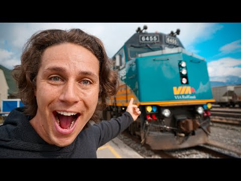 The TRAIN to Canada's WETTEST CITY - VIA Rail
