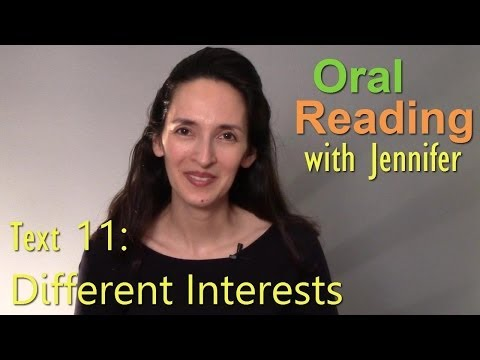 Oral Reading Fluency 11: