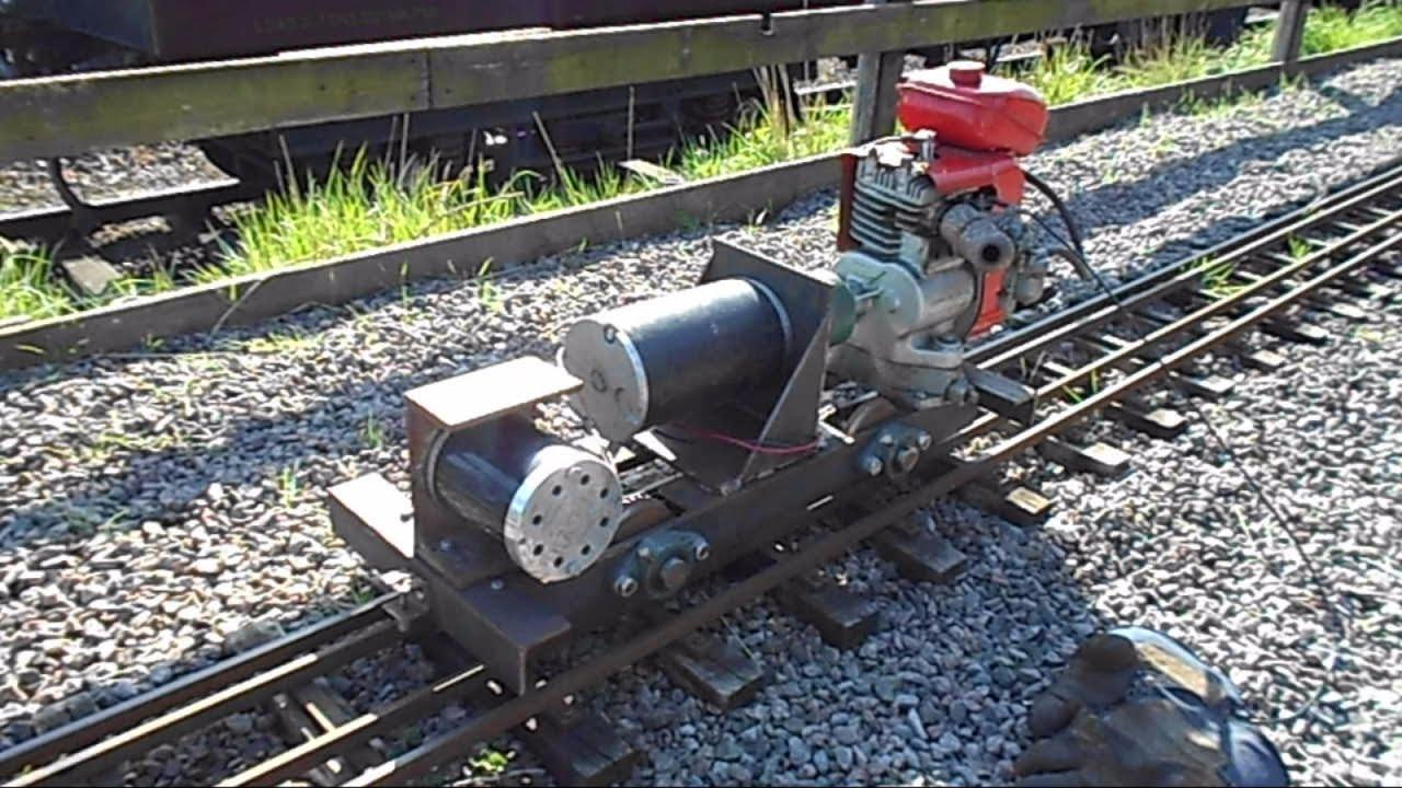 5 Quot Inch Gauge Petrol Electric Generator Locomotive Part 7