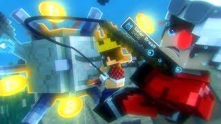 КРИПТОГОРОД! МЫ ВСТРЕТИЛИ СТРАШНОЕ ЧУДОВИЩЕ В ПОДВОДНОМ ХРАМЕ! Minecraft