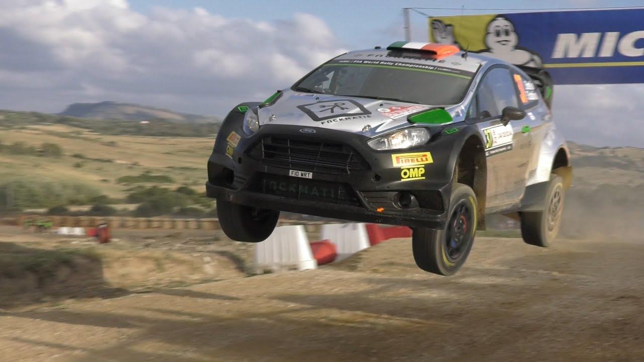 Day 1 - L. Bertelli / S. Scattolin - Ford Fiesta WRC