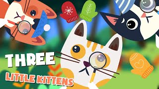 Three Little Kittens Song | Nursery Rhymes for kids | KIDSPlaytime Kids songs and Nursery Rhymes