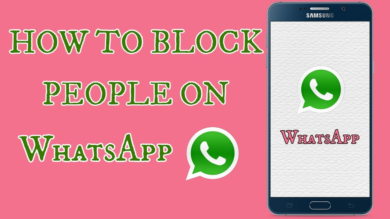 Block someone whatsapp how on How to
