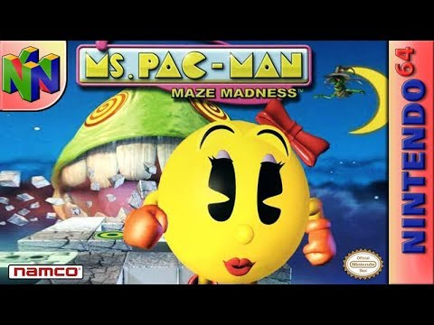 Longplay of Ms. Pac-Man Maze Madness