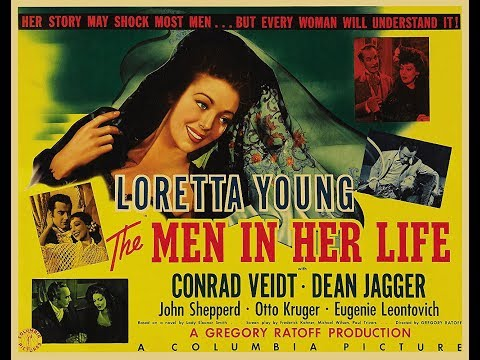 Драма  Мужчины в ее жизни (1941) Loretta Young Conrad Veidt Dean Jagger