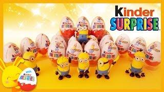 KINDER surprise- 20 Oeufs Minions pour les enfants - Titounis