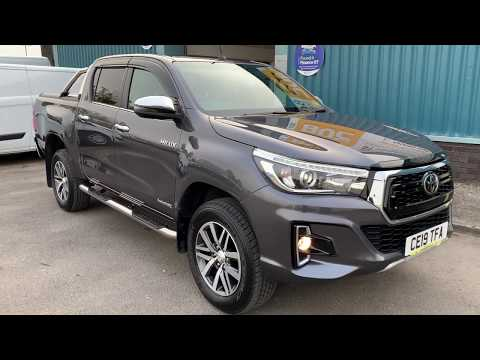 2019 TOYOTA HILUX INVINCIBLE X AUTOMATIC WALKAROUND - CE19TFA