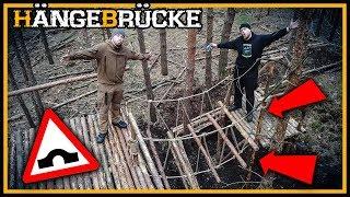 Bushcraft Camp [S04/E19] Die Hängebrücke - Lagerbau Outdoor Super Shelter
