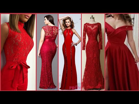 Deep Red Prom Night Dresses Collection/Valentine's Day Maxi Dresses. Http://Bit.Ly/2GPkyb3