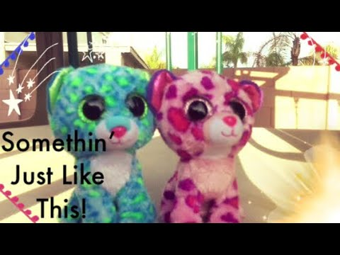 Something just like this ~ Beanie boo stop motion Music !