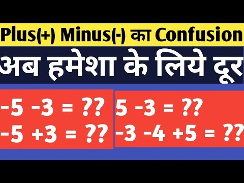 Download Basic Maths rule of plus minus | Adding and subtracting integers Mp4 baru