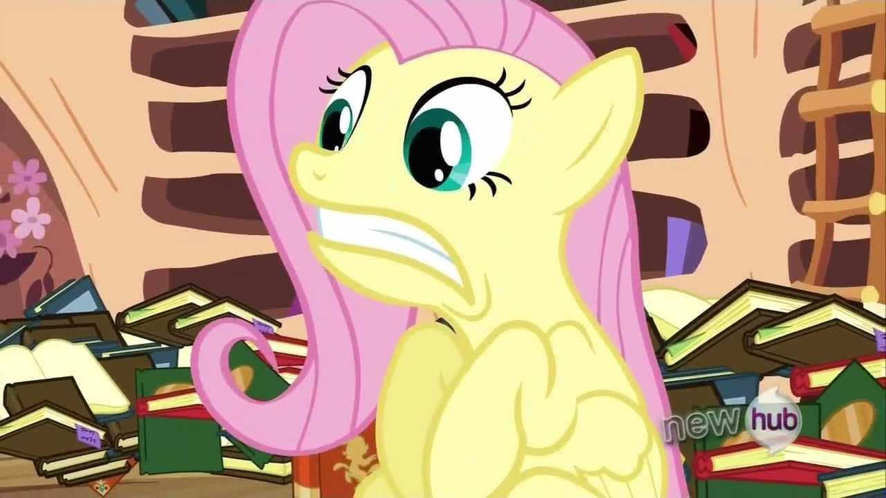 Fluttershy Scared Fluttershy - (S...