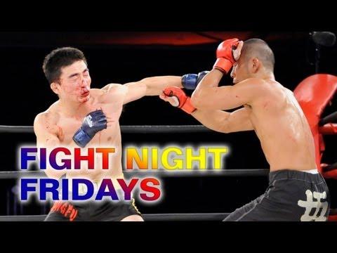 Chinese Sanda Champion Wu Chengjie squares off against Japanese KO artist Yusuke Kawanago
