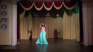 Лилия Ткачева(LILIYA TKACHEVA)  Концерт студии восточного танца Маргариты Савченко (июнь 2017)
