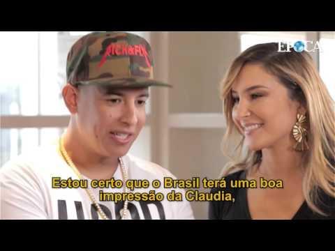 Claudia Leitte e Daddy Yankee falam sobre o clip Corazón - Será muito sensual