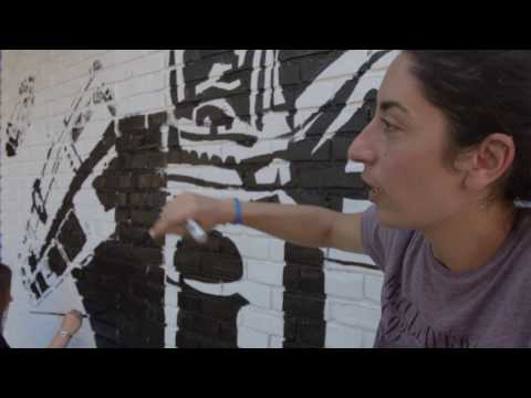 Global Graffiti Project: Cacao Rocks and Olga Alexopoulou