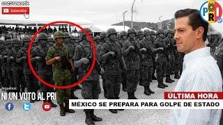 CONFIRMAN!! GOLPE DE ESTADO contra PEÑA NIETO Noviembre 2016 / Ni un voto al PRI