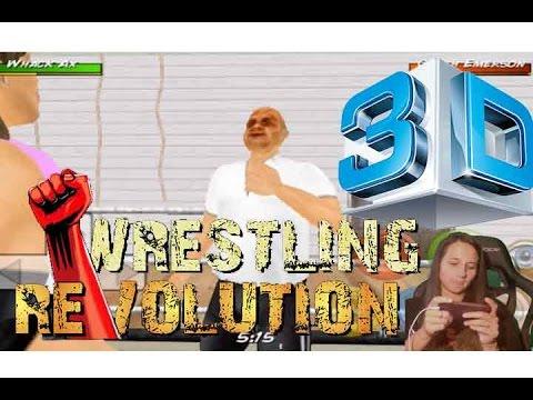 Finally wrestling revolution 3d youtube