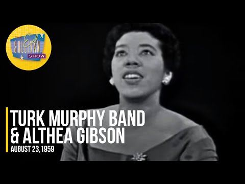"""Turk Murphy Band & Althea Gibson """"Jelly Roll Blues"""" on The Ed Sullivan Show"""