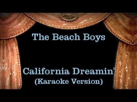 The Beach Boys - California Dreamin' - Lyrics (Karaoke Version)