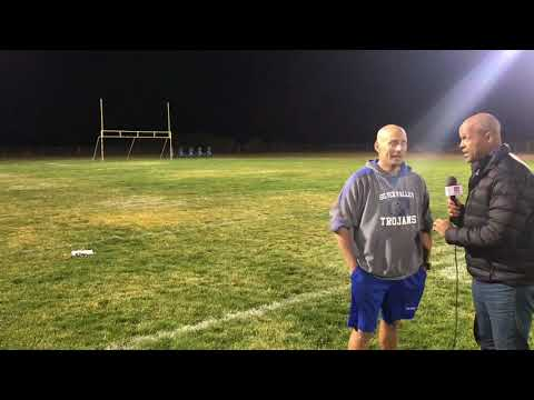 PREGAME INTERVIEW; Silver Valley Head Coach John Stewart with David Hill HSPN SPORTS in Yermo, CA
